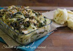 tagliatelle al forno friarielli e provola con ragù bianco ricetta primo piatto domenica festa natale ricetta