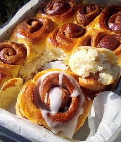 Greek Recipes, Desert Recipes, Super Donut, Cinnamon Rolls, Cake Cookies, Yummy Cakes, Food To Make, Food Processor Recipes, Sweet Tooth