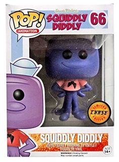 Funko Pop Animation Hanna-Barbera Squiddly Diddly Vinyl Figure #66 CHASE