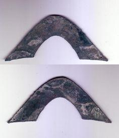 """Bridge"" money of the Zhou Dynasty, circa 750 B.C."