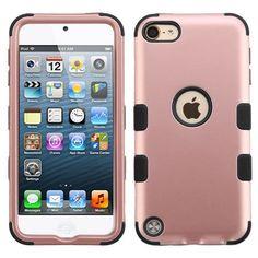 New arrival: MYBAT TUFF Apple ... Order now! http://www.myphonecase.com/products/mybat-tuff-apple-ipod-touch-5th-6th-gen-case-rose-gold-black?utm_campaign=social_autopilot&utm_source=pin&utm_medium=pin