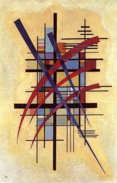 Sign with Accompaniment ~ Wassily Kandinsky