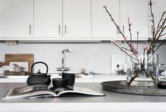 How to style your plain white kitchen.