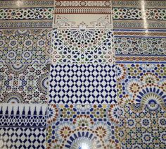 Marokkanische Patchworkfliesen Bunt Keramikfliesen Fliesen - Fliesen restposten at