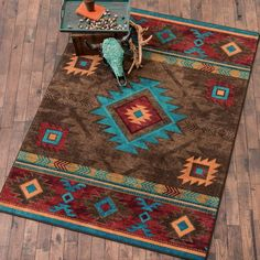 Check out Lone Star Western Decor today and take a look at our tremendous inventory of Southwest rugs, for example this 8 x 11 Whiskey River Turquoise Rug! Southwest Rugs, Southwest Decor, Southwestern Decorating, Southwestern Style, Western Furniture, Home Furniture, Furniture Design, Kitchen Furniture, Rustic Furniture