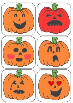 Les citrouilles émotions Plus Pumpkin Crafts, Fall Crafts, Theme Halloween, Bricolage Halloween, Preschool Crafts, Holidays And Events, Pumpkin Carving, Activities, Fall Season