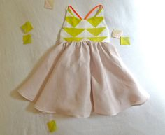 Patchwork Quilt Dress by harriet & daughters on etsy