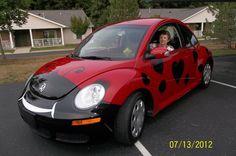 #VWBeetle Love Bug