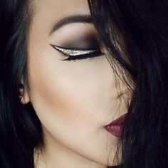 Glitter Winged Eyeliner by AsianPrincess93 on the #Sephora Beauty Board