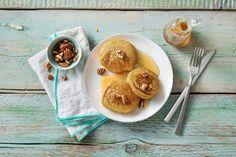 Voor een heerlijk winterse smaak voeg je pompoen en speculaaskruiden toe aan je beslag. - Recept - Allerhande