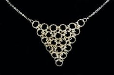 Easy Chain Maille Necklace Tutorial for beginners