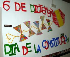 Colegio Inmaculada del Voto: CONSTITUCIÓN ESPAÑOLA Home Decor, Ideas, Constitution Day, Boy's Day, Easy Kids Crafts, Teachers, Decoration Home, Room Decor