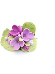 Polymer Clay Flowers, Polymer Clay Crafts, Diy Clay, Polymer Clay Jewelry, Elegant Cookies, Easy Ornaments, Wilton Cake Decorating, Cute Clay, Porcelain Clay