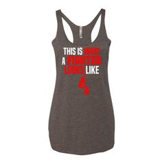 This is What a Fighter Looks Like - Women's boxing tank top
