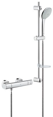Grohe Grohtherm 1000 Cosmo Thermostatic Shower 34437000Grohe Grohtherm 2000 Thermostat with integrated 2 way diverter for  . Grohe 1000 Thermostatic Bath Shower Mixer. Home Design Ideas