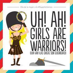 Las chicas son guerreras