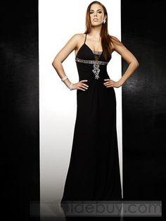 Sexy Floor-Length Spaghetti-Straps Floor-Length Prom Dresses