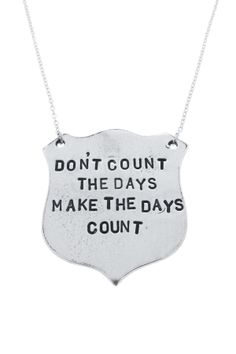 Make The Days Count Necklace