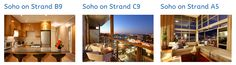 Book your Soho Apartment in Cape Town today! Browse through our portfolio to find a number of exclusive apartments at the Soho on Strand, a modern apartment complex located at the heart of the popular area, De Waterkant. Soho Apartment, V&a Waterfront, Apartment Complexes, Table Mountain, Cape Town, Apartments, South Africa, Popular, Number