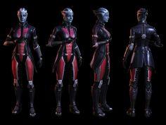 Mass Effect 3 Armor | Liara Armor - Characters & Art - Mass Effect 3