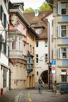 Zurich, Switzerland // Get more Swiss travel inspiration at http://www.holidaystoeurope.com.au/home/resources/destination-articles/switzerland