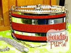 holiday purse revamp {from drab to fab}