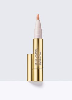 Double Wear Brush-On Glow BB, Highlighter - Luminous, long-wear, lightweight BB brightens, perfects and corrects. Brightens shadows, helps erase the look of fatigue, Minimizes imperfections like blemishes, dark circles, fine lines and wrinkles.