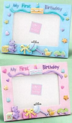 10 Best Birthday Frames For Babies Images Babys First Birthday