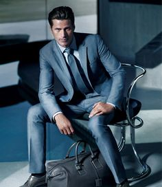 Mark Vanderloo - still one of the hottest male supermodels! Hugo Boss Spring/Summer 2012