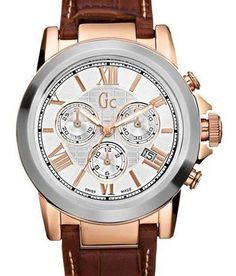 Gc I41501G1 Chronograph Rose Gold Watch