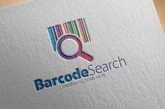 Check out Barcode Search Logo by samedia on Creative Market