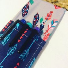 Pen Pocket Organizer | Sewing Tutorial | DIY Organization | pen holder