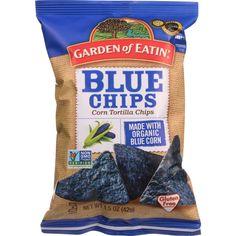 Garden Of Eatin Tortilla Chips Organic Cantina Style Blue