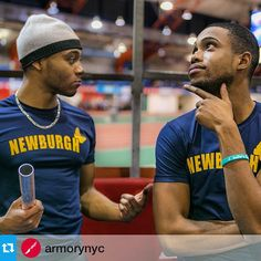 """Get ready. It's coming!@armorynyc """"When you just ran a bunch of races and your coach asks if you're ready to run the 4x4  #TrackNation #ArmoryNYC """"  #TrackandField #running #run #runsmiles"""