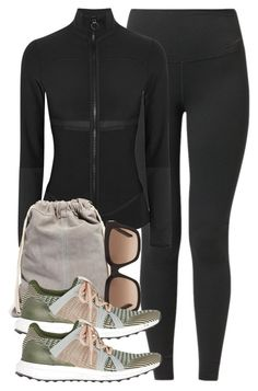 """""""Untitled #619"""" by paradise-101 ❤ liked on Polyvore featuring NIKE, adidas, ASOS, Yves Saint Laurent, sport and workout"""