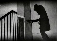one of the many iconic shots in Murnau's Nosferatu.