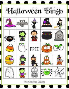 Free Halloween Bingo