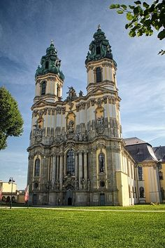 The Baroque Basilica of the Assumption in Krzeszow, Lower Silesia, Poland by mirome