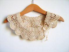 collar tejido a crochet - Buscar con Google