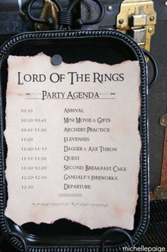 Kara's Party Ideas Lord of the Rings Themed Birthday Party {Planning, Decor, Ideas, Cake} Birthday Party Themes, Boy Birthday, Birthday Ideas, Hobbit Party, Hobbit Wedding, Partys, Fun Ideas, Party Ideas, Fiesta Party
