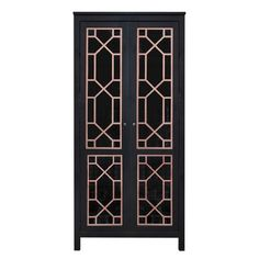 Chip Double O'verlays Kit for Ikea Hemnes Glass or Paneled 2 Door Cabinet *Idea for own Ikea hack