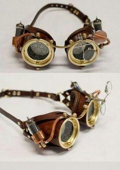Steampunk brille