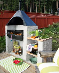 Stawiaj na grill ogrodowy. http://domomator.pl/stawiaj-grill-ogrodowy/