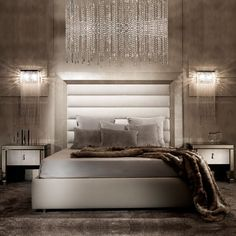 Discover the best lighting selection for bedroom decor inspiration for your next interior design project here. For more visit luxxu.net