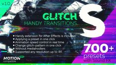 Glitch Handy Transitions  • After Effects Template  #animation #video • See it in action ➝ https://videohive.net/item/glitch-handy-transitions/21059280?ref=pxcr