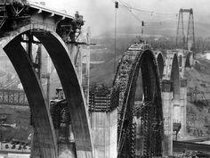 1932: The George Westinghouse Bridge, Pittsburgh's engineering marvel