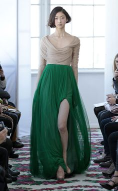 This skirt reminds me of the dress Keira Knightly wore in Atonement. I LOVE this color!!