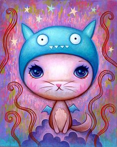 Ice Bat Cat ~ by Jeremiah Ketner