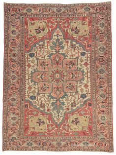 SERAPI, NORTHWEST PERSIAN, 9FT 6IN X 12FT 8IN, 3RD QUARTER, 19TH CENTURY http://www.claremontrug.com/antique-rugs-information/collecting/
