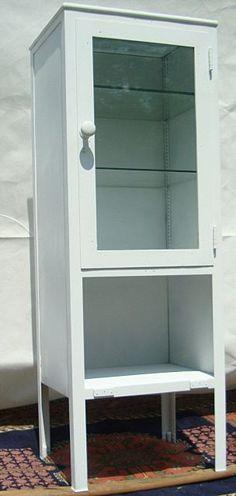 Antique medical cabinet